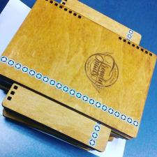 Дизайн для изделий из фанеры (ежедневник)