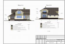 Архитектурное решение фасада