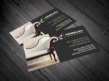 Визитки для интернет-магазина мебели