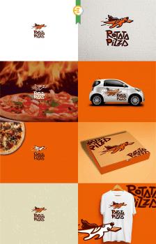 Логотип для Rotata Pizza