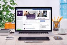 оформление страницы facebook для brandstock