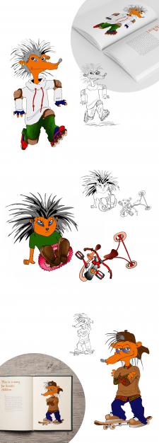 Ежики-персонажи