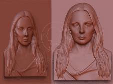 Изготовление портретного барельефа по фото