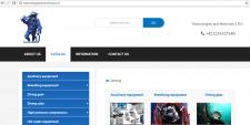 Сайт-каталог оборудования для дайвинга.