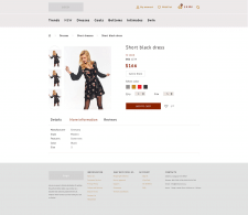 Дизайн страницы товара интернет-магазина