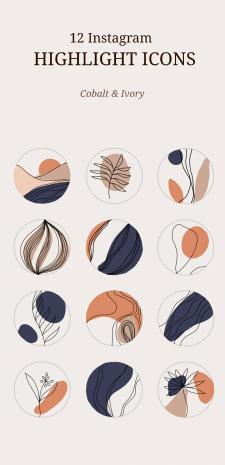 Создание иллюстраций для Instagram (highlights)