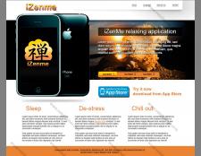 Промо сайт для приложения