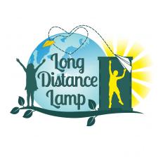 Логотип для магазина персонал. деревянных ламп