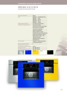 Zanussi - каталог