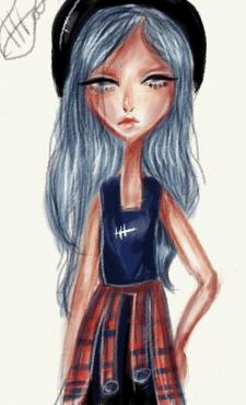 Девочка хулиганка