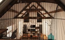 Проект житлового приміщення з робочою зоною
