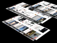Дизайн-верстка каталога солнечный панелей