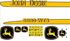 Дизайн наклеек на комбайн Джон Дир 9680
