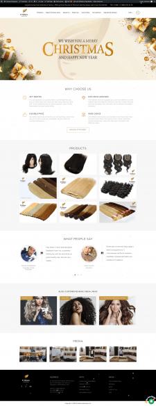 Сайт для продажа париков elmilanoextensions.com