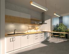 Дизайн проект меблів та інтер'єру кухні