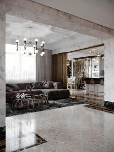 Дизайн проект квартиры ЖК «Покровский Посад»