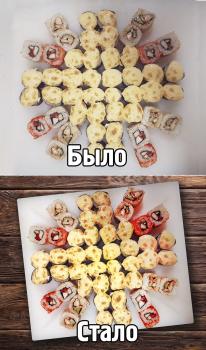 Обработка фотографии для меню