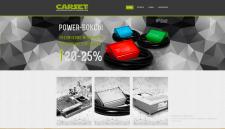 Сайт для компании Carset