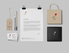 Логотип и фирменный стиль для дизайнера одежды