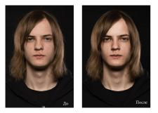 Портрет ретушь