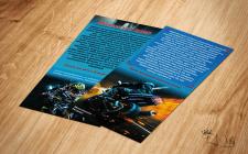 Дизайн евро флаера для мотоциклистов