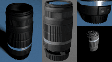 Объектив Canon EF-S
