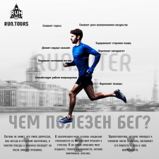 Рекламный баннер для RUN.PITER