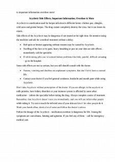 Рерайт описания препарата Acyclovir