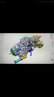 3Д сборка агрегата