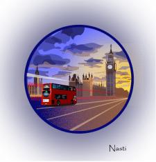 """Иллюстрация """"Лондон"""""""