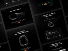 Holo Lens - concept website