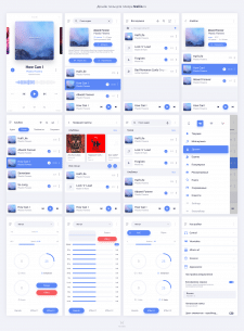 Дизайн Плеера Stellio для Android