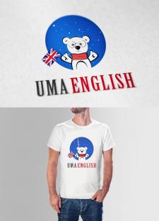 """Логотип """"Uma English"""""""