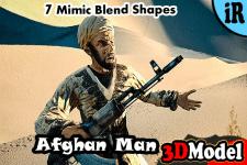 3D Model - Desert Warrior