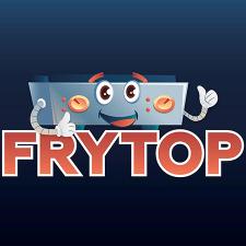 Логотип для магазина варочных поверхностей FRYTOP