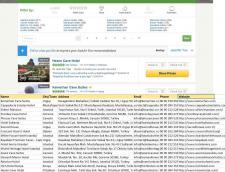 Парсер сайта tripadvisor.com