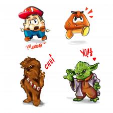 Стилизация персонажей