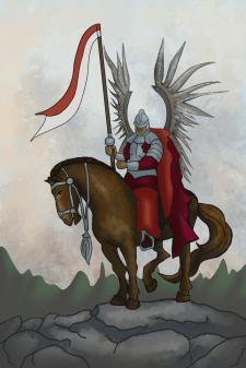 крилатий гусар, карти