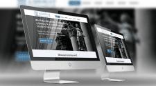 Одностраничный сайт и лого для адвоката
