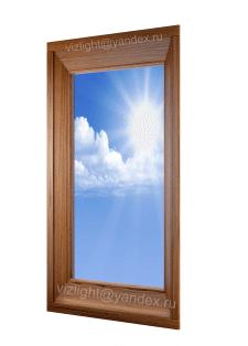 Студийная визуализация фальш-окна