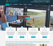 Создание сайта охранного агентства