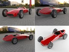 Моделирование гоночного спорткара
