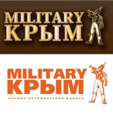 "Логотип журнала "" Мilitary Крым"""