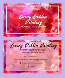 ВІзитка для Luxury Dublin Painting