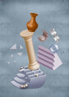 3D абстрактний дизайн