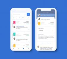 Mobile App for tasks