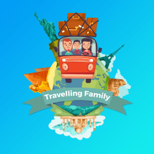 Logo - Travelling Family