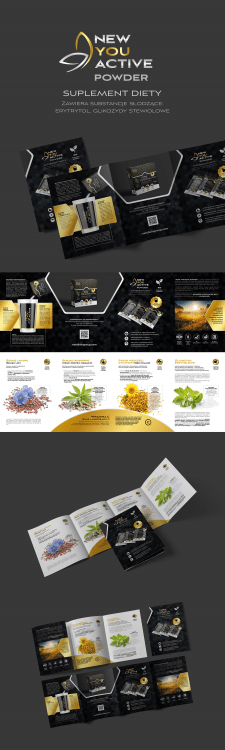 Dietary Supplement - Booklet Design