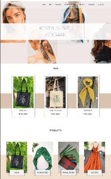 UI/UX Design of Online Shop