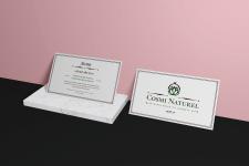 Логотип и визитка для интернет магазина